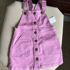 Jamie Kay Overalls Dress NWT 4Y